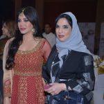 Lujan Omran with Mariyam Othman